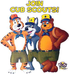 Join Cub Scouts graphic